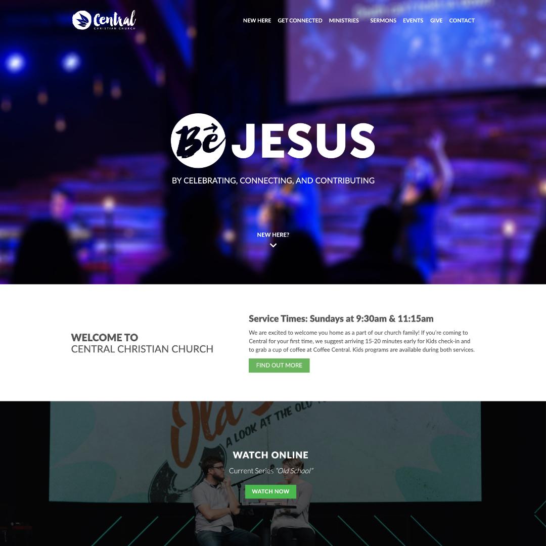 Central Christian Church Ocala, Florida Website Design
